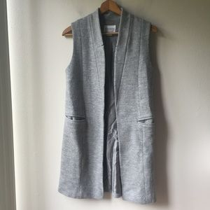 Club Monaco Jackets & Coats - Club Monaco Merel Wool Knit Long Vest